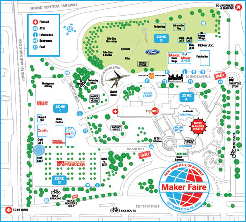 The world maker faire program guide normalblog for Map drawing program