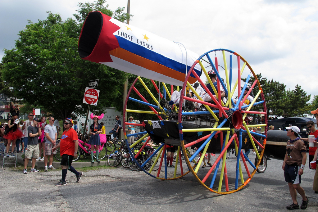 The wheels are 12 foot diameter.
