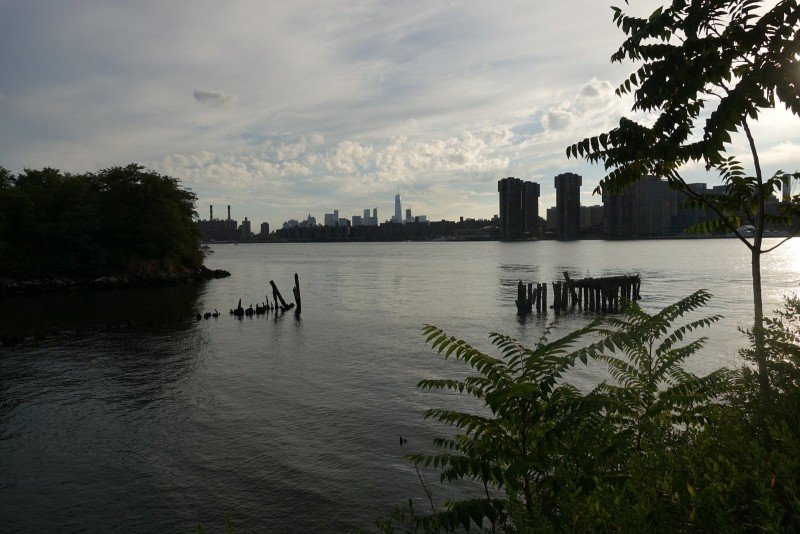 the Freedom Tower off in the distance